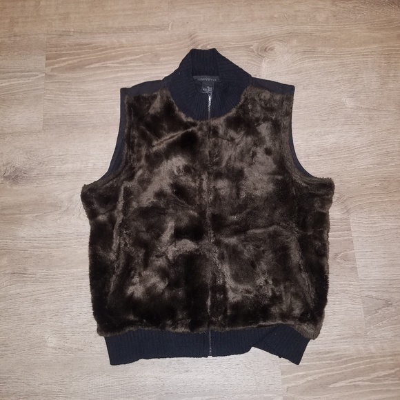 The Limited Jackets & Blazers - The Limited Faux Fur Vest